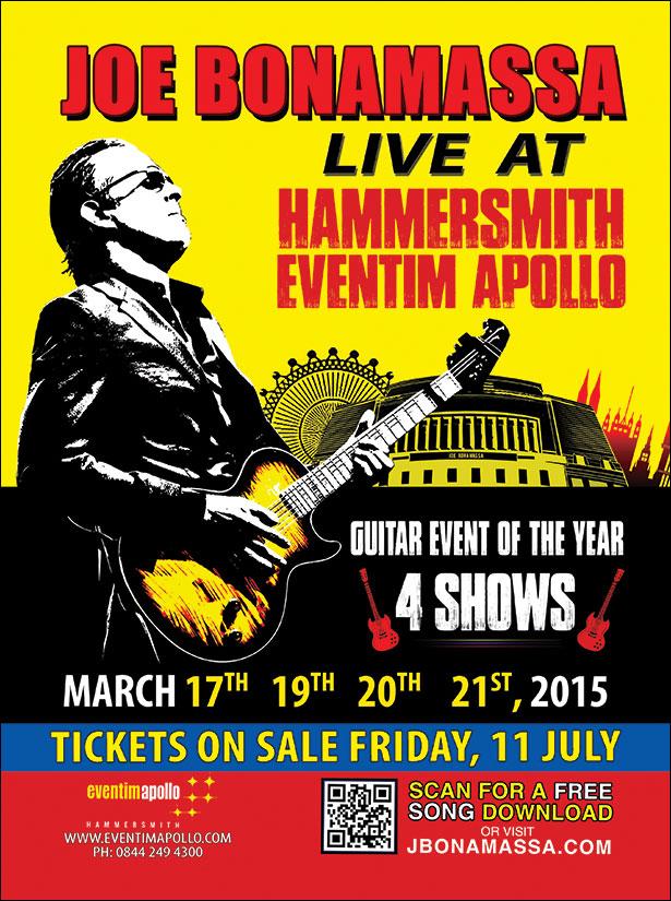 Joe bonamassa tour dates in Australia